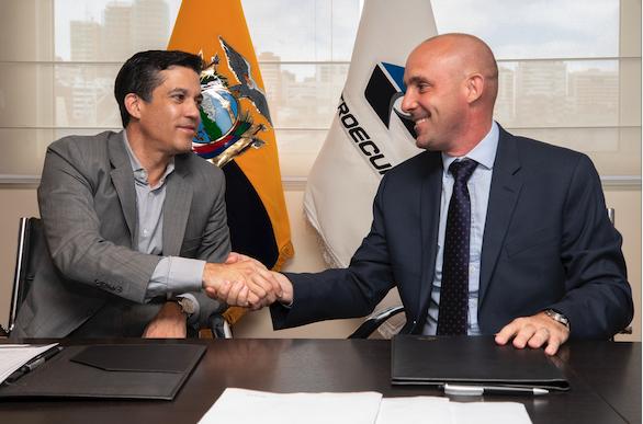EP Petroecuador y OCP Ecuador suscribieron contrato para transporte de crudo pesado