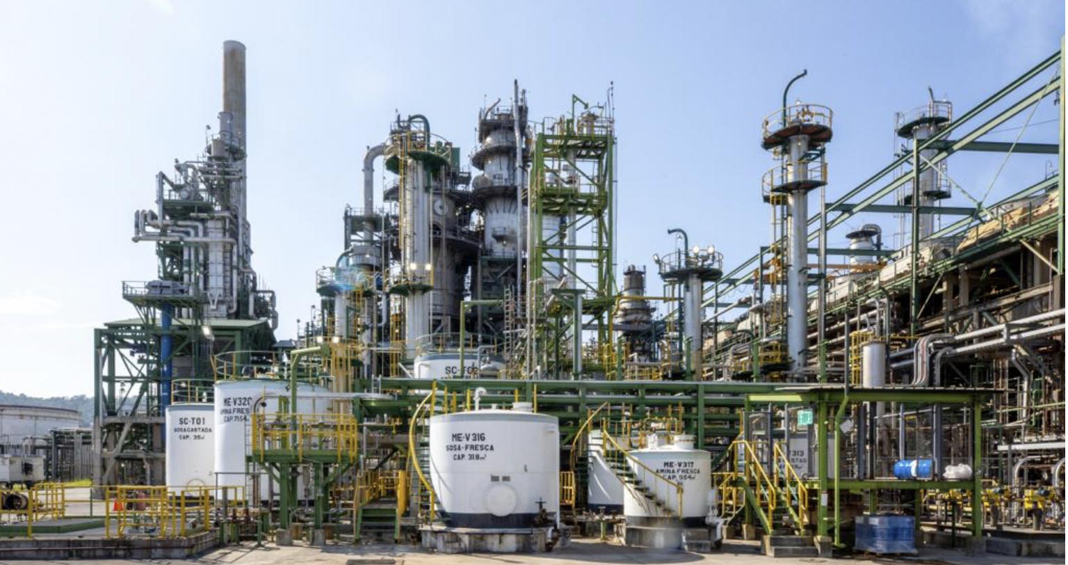 Puntos calientes de Unidad FCC de Refinería Esmeraldas fueron corregidos, tras mantenimiento programado