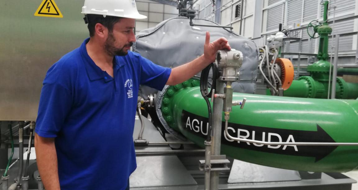 Acueducto La Esperanza reanuda provisión de agua cruda a los cantones de Manta, Montecristi y Jaramijó