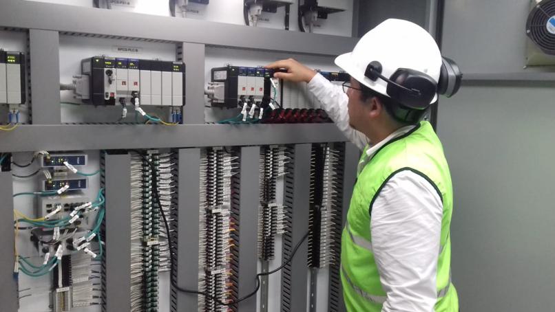 Se realizó el cambio del UPS (Sistema de alimentación ininterrumpida) del sistema eléctrico del Acueducto La Esperanza