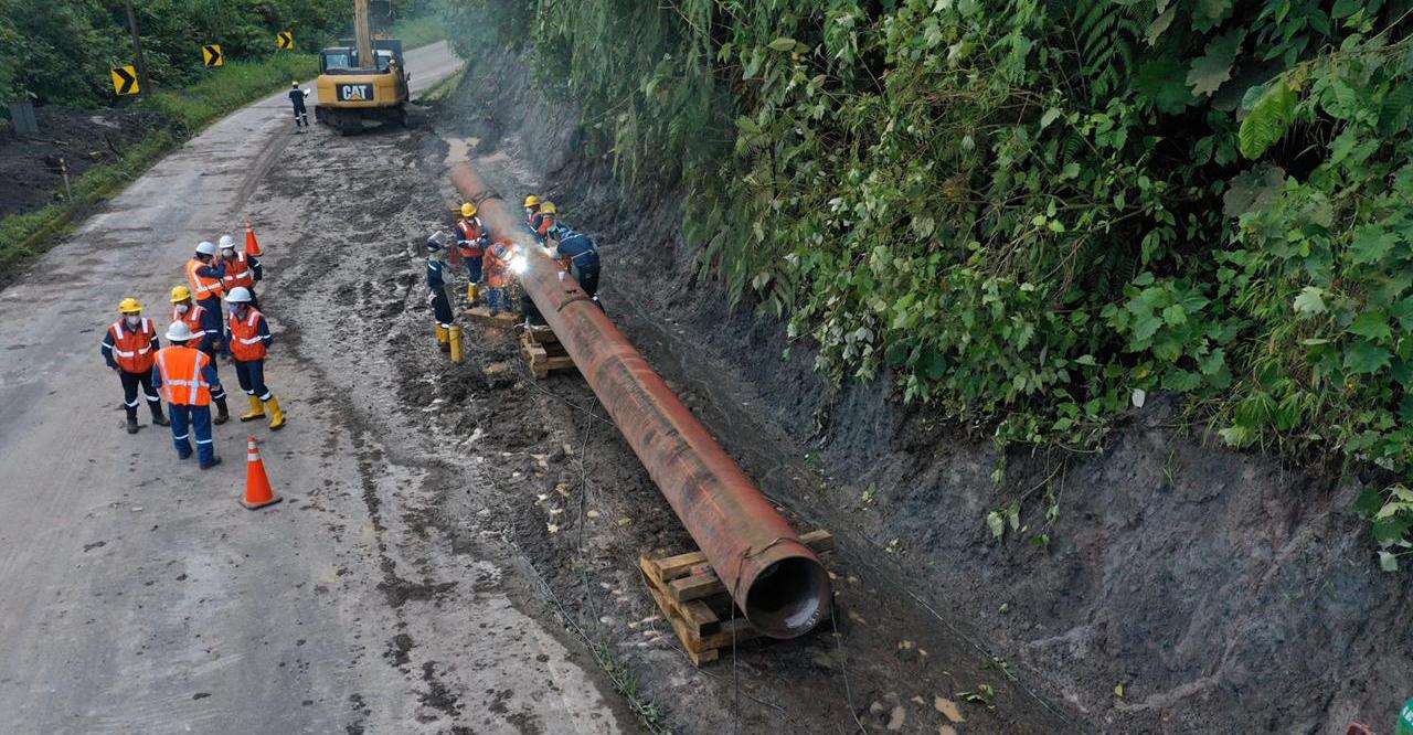 Ministerio de Energía anuncia la construcción de obras de mitigación, ante el avance de la erosión natural regresiva en la cuenca del Río Coca